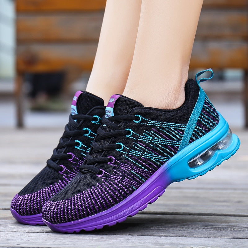 Womens Ombre Sneakers