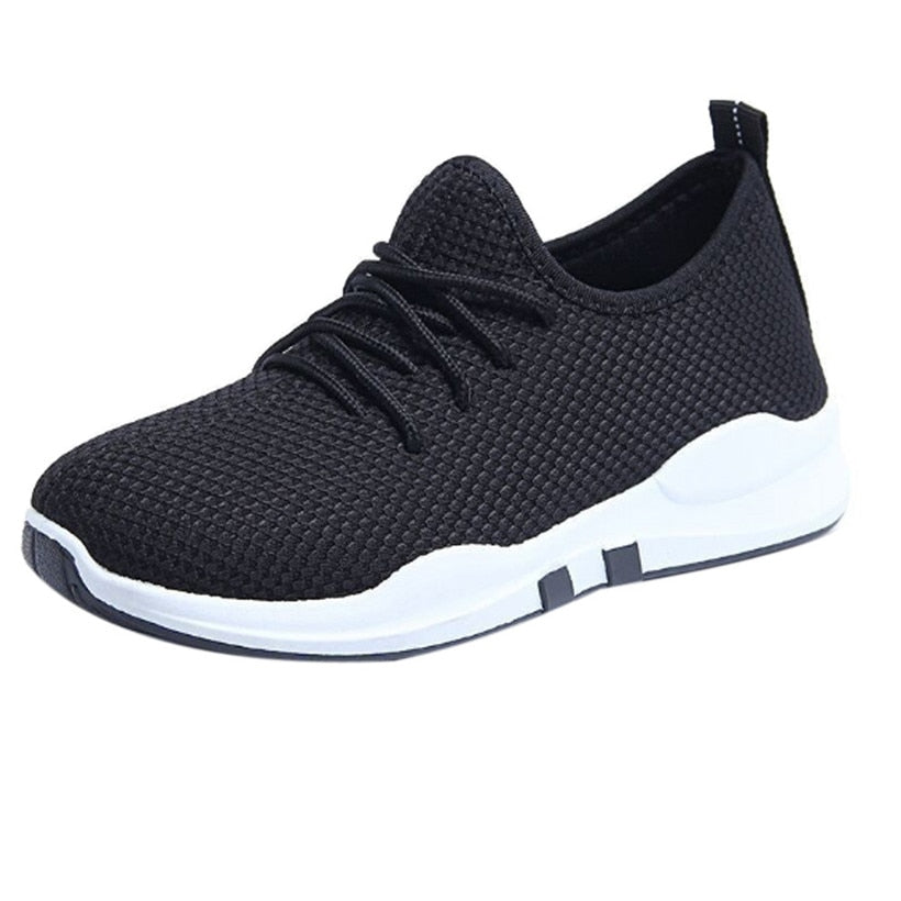 Womens Lace Up Gym Sneakers