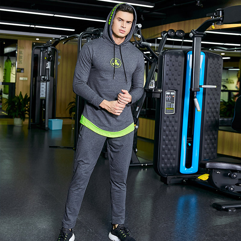 Mens Gym Fitness Sportswear Suit