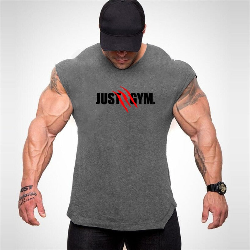 Mens Muscle Tank Bodybuilding Shirt