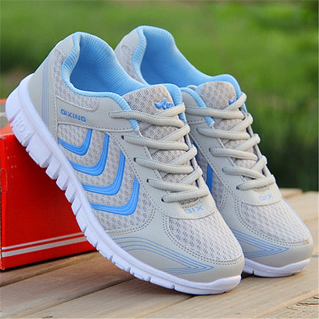 Womens Breathable Running Sneakers