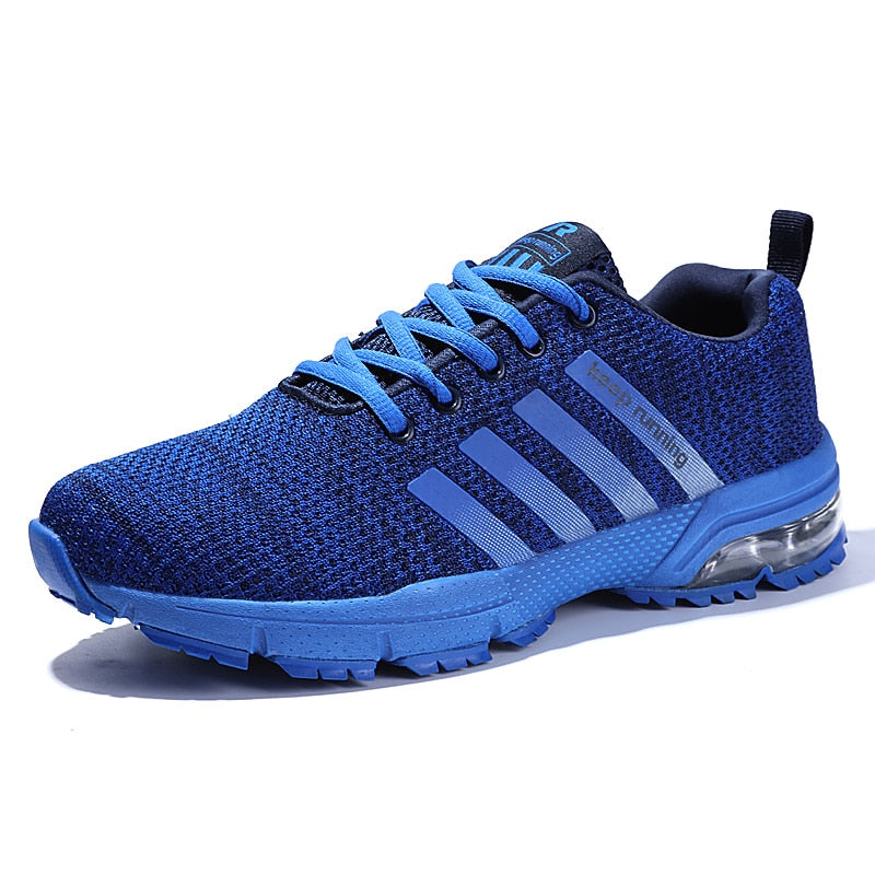 Men Running Shoes Breathable Big Sport Athletic For Women Boots Fly Weave Outdoors Trainers Walking Sneakers Jogging Footwear