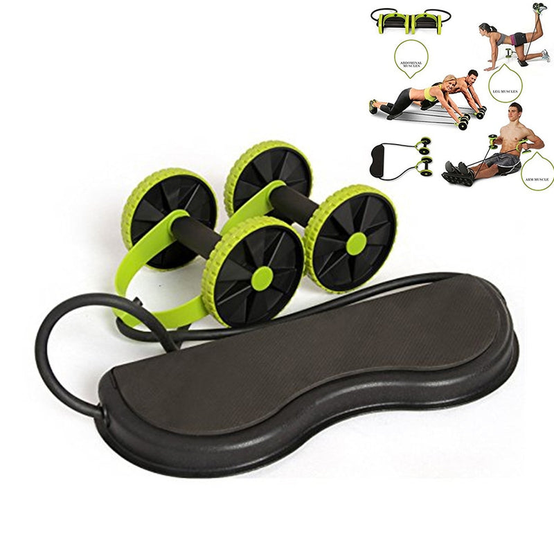 Multifuntional Wheel Tension Home Gym