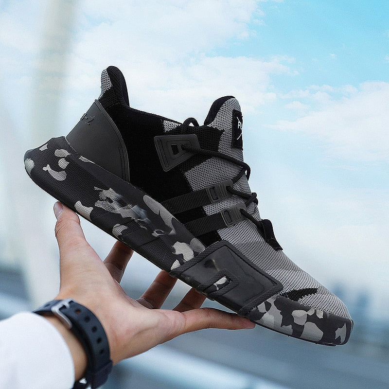 Big Man Size Sneakers Outdoor Walking Jogging Trainer Athletic Spring Fall Breathable Mesh lace-up Sport Running Shoes