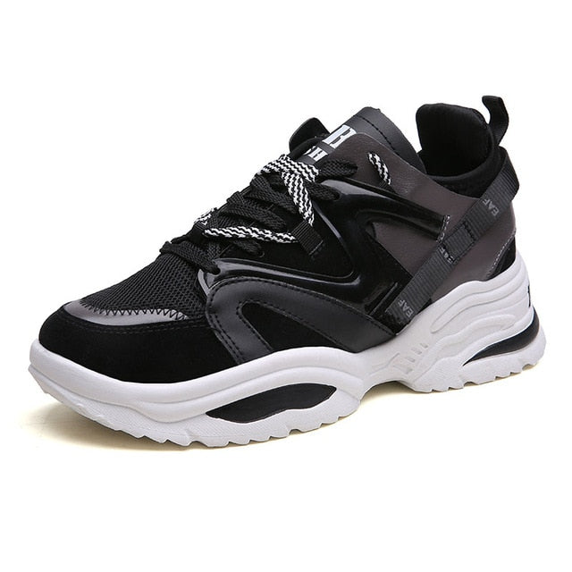 Colorful Womens Height Increasing Sneakers