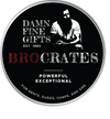 Damn Fine Gifts, Bro Crates, Gift Baskets for Men, Unique Manly Gifts For Men