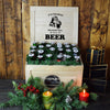 Holiday Beer Gift BroCrate, beer gift baskets, Christmas gift baskets, gourmet gift baskets