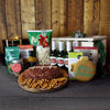Big Game Holiday Cheese Ball & Beers BroCrate, beer gift baskets, beer gift crates, Christmas gift baskets