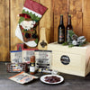 Meat Lover's Stocking Gift Crate, beer gift baskets, gourmet gifts, gifts