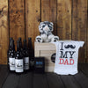 CELEBRATE FATHERHOOD WITH BEER GIFT BASKET, baby boy gift basket, welcome home baby gifts, new parent gifts