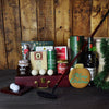 Golf & Liquor Holiday BroCrate, liquor gift crates, Christmas gift baskets