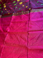 Semi matka saree