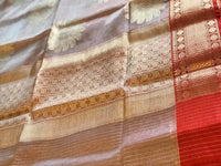 Kora tissue weaving saree - Sringaram
