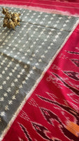 Ikkat cotton saree - Sringaram