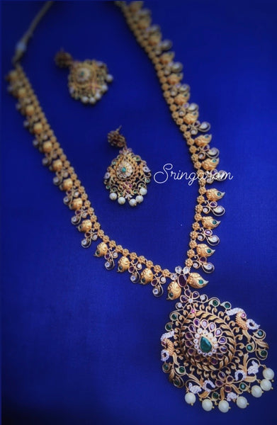 Antique jewellery Long haram