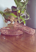 Antique Jewellery Bangles 2.6 Rose pink Single bangle