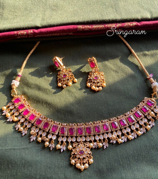Antique jewellery (High neck choker)