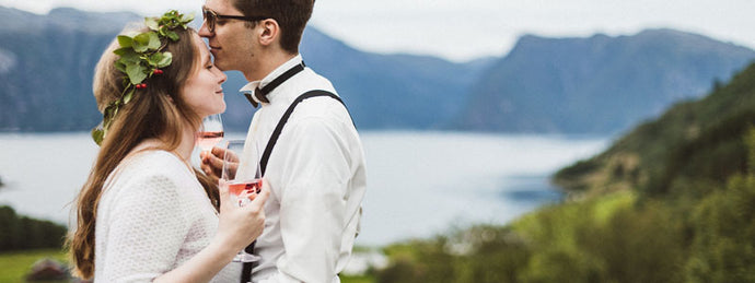 Bridal Shoot in Norway - Pictures from the bride and groom