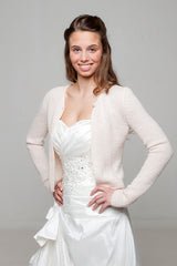 Bridal knit jacket for your wedding dress or skirt