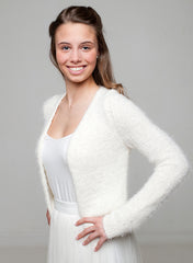 Knit jacket for your wedding soft and skinfriendly