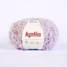 Load image into Gallery viewer, Bombon wool from katia white and mauve