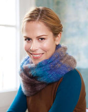 Load image into Gallery viewer, Mohair Silk from Katia; knit light weight jackets, bolero and pashminas