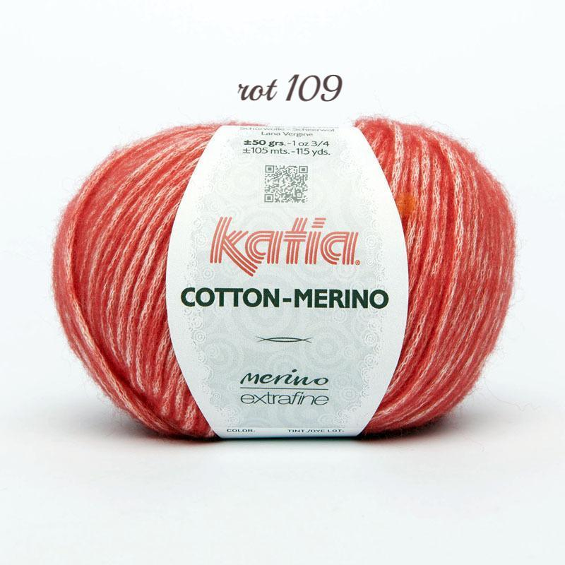 Merino wool soft from KATIA red
