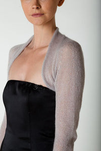 Knit coverup for knitting yourself grey
