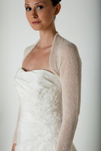 Load image into Gallery viewer, Cashmere jacket for your wedding dress knitted