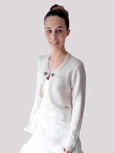 traditional knit jacket DILL Spieth & Wensky cream for brides