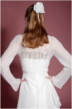 Load image into Gallery viewer, Wedding jacket with embroidery