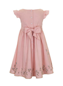 Rose dress for girls aged from 1 to 5 years old