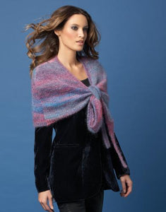 Mohair Silk from Katia; knit light weight jackets, bolero and pashminas