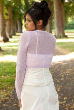 Load image into Gallery viewer, cashmere jacket for bridal gowns ivory, blush and white, rose