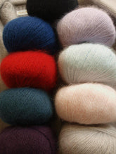 Load image into Gallery viewer, Angora Wolle Langyarns für kuschlige Strickjacken online bestellen