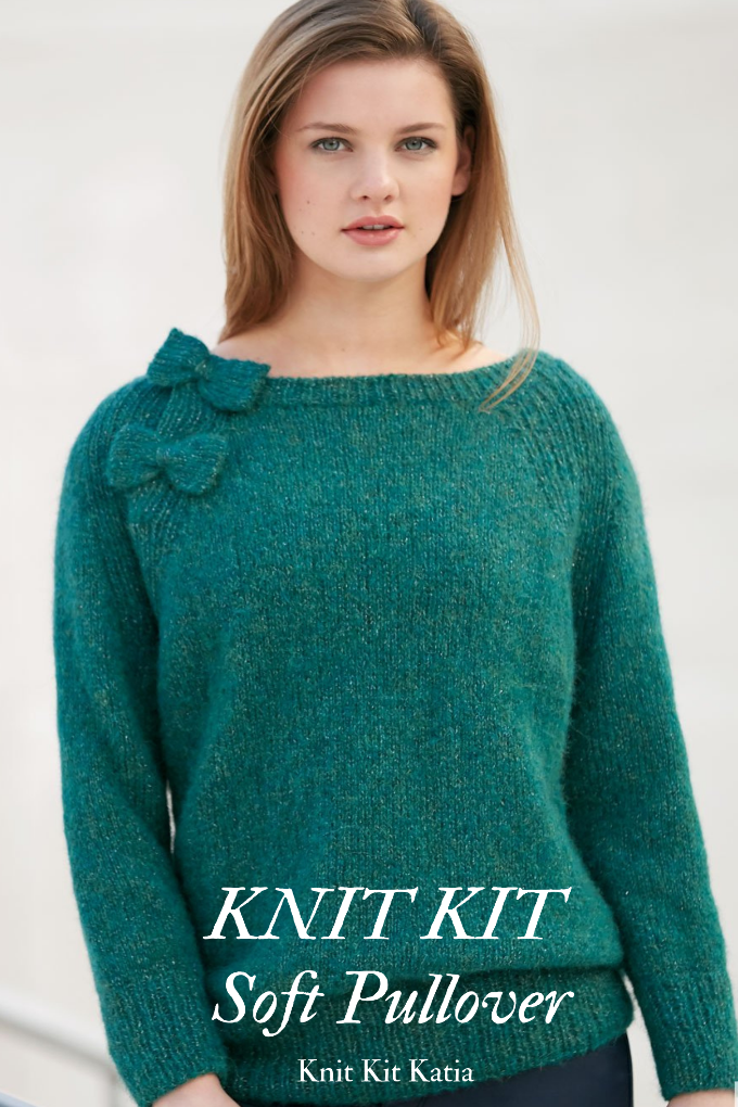 DIY knit your own sweater with baby alpaca and silk