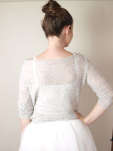 Load image into Gallery viewer, Cashmere silk pullover for brides