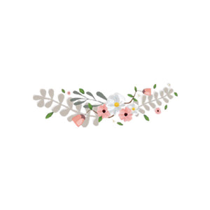 iron textile sticker flowers rose