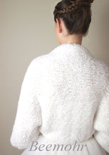 Load image into Gallery viewer, Wedding knit jacket made for your bridal gown or skirt