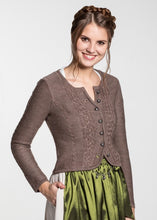 Load image into Gallery viewer, Traditional jacket for your dirndl brown
