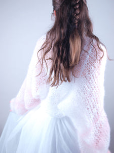 Knit bolero loose for brides