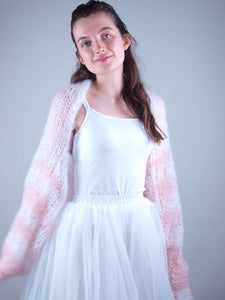 Knit bolero loose for brides in summer