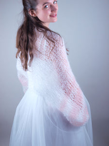 Wedding Shop for knit bolero and accessory