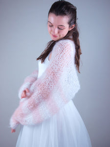 Wedding Knit bolero loose for brides