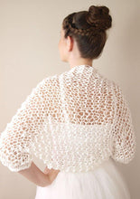 Load image into Gallery viewer, Wedding bolero jacket for your bridal skirt or dress