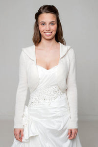 Hoody for your wedding dress knitted for Brides