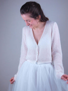 bridalknitfashion: bolero, sweater and loops