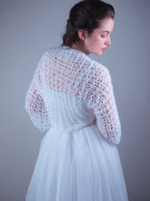 Load image into Gallery viewer, knit jacket for brides in corona times