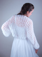 Load image into Gallery viewer, Loose wedding jacket knit couture beemohr