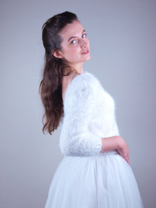 bridal knit wear made with #bridal skirt
